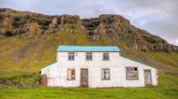 Steinaborg in Berufjörður, now one of many derelicted farms in Eastern Iceland photo by karl magnusson