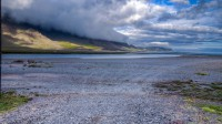 Standing in Hamarsfjordur and looking into north-east toward Berufjordur, Eastern Iceland photo by karl magnusson