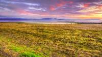 View toward Melrakkaslétta seen from Langanes in NorthEast Iceland