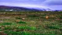 View around Þórshöfn in Langanes in Northern Iceland