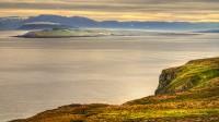 Looking toward Hrísey in Eyjafjörður in Northern Iceland photo by Karl Magnusson