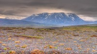 Mt. Hrútfell in the Highlands of Iceland on the route over Kjölur photo by karl magnusson