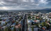 Reykjavik Centrum seen from Hallgrímskirkja Tower