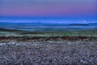 Looking over the lake Apavatn toward the volcano mt. Hekla in Southern Iceland photos by karl magnusson