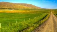 The valley Lundarreykjadalur in Borgarfjörður, Western Iceland photo by karl magnusson