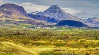 University of Bifröst at the foot of mt. Baula in Borgarfjörður, Western Iceland photo by karl magnusson