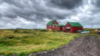 The farm house Knarranes in Vatnsleysuströnd in South-West Iceland photo by karl magnusson