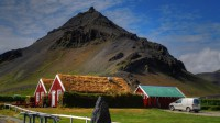 Mt. Stapafell and Arnarstapi in Snæfellsnes, Western Iceland photo by karl magnusson