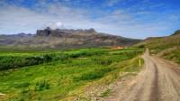 The farm Lágafell in Snæfellsnes looking toward Ellíðatindar, Western Iceland photo by karl magnusson