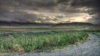 Sunrise in back country of Hvalfjörður, Western Iceland photo by karl magnusson