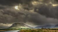 Rainy day over Meðalfell in Hvalfjörður, Western Iceland photo by karl magnusson