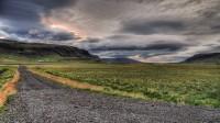 In valley of Kjós looking toward Hvalfjörður, Western Iceland photo by karl magnusson