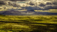 The Bláfjöll (Blue mountain) near Reykjavik, Western Iceland photo by karl magnusson