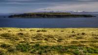 Looking over Grímseyjarsund toward Grímsey in Strandir, Westfjords of Iceland photos by karl magnusson