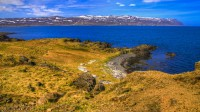 View over Bjarnarfjörður in Strandir, Westfjords of Iceland photos by karl magnusson