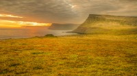 View over west part of Westfjords of Iceland seen from Látrabjarg photos by karl magnusson