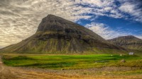 Mt. Neðrabæjarnúpur in Selárdalur in Arnarfjörður in Westfjords of Iceland photos by karl magnusson