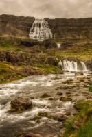 The waterfall Dynjandi aka Fjallfoss inDynjandivogur in Arnarfjörður in Westfjords of Iceland photos by karl magnusson