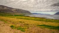Arnarfjörður seen from Ós in Mosdalur in Westfjords of Iceland photos by karl magnusson