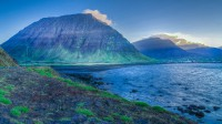 In Bolungarvik and mt. Ernir in Westfjords of Iceland photos by karl magnusson