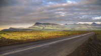 On the road in Breiðdalsvik, Eastern Iceland photo by karl magnusson