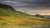 Coming from Stöðvarfjörður to Fáskrúðsfjörður you will see Skrúður, Eastern Iceland photo by karl magnusson