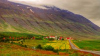 View toward Hólar in Hjaltadalur in Northern Iceland photo by karl magnusson