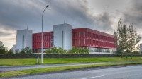 National library in Reykjavik, Iceland