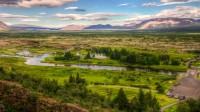 View over the Þingvellir national park in Southern Iceland photos by karl magnusson