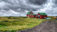 The farm house Knarranes in Vatnsleysuströnd in South-West Iceland photo by karl magnusson