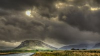 Rainy day over Meðalfell in Hvalfjörður, Western Iceland photo by karl magnusson