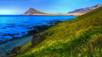 Mt. Reykjaneshyma seen from Krossnes, Strandir in Westfjords of Iceland photos by karl magnusson