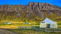 New church in Ármes in Trékyllisvik, Strandir in Westfjords of Iceland photos by karl magnusson