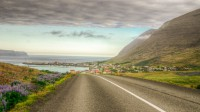 Coming into the town of Patreksfjörður in Westfjords of Iceland photos by karl magnusson
