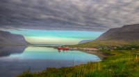 View out Tálknafjörður in Westfjords of Iceland photos by karl magnusson