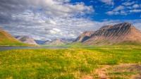Deep into Önundarfjörður and from left mt. Hestur, mt. Tungufjall, mt. Krákur and mt. Bakkafjall in Westfjords of Iceland photos by karl magnusson
